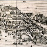 Arsenale in Venice by Joan Blaeu, 1724, Public Domain, via Wikimedia Commons