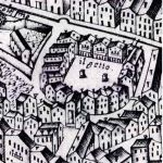 Venice Ghetto woodcut