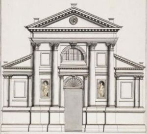 San Francesco della Vigna, design by Palladio, Public Domain