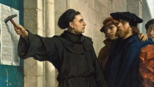 Martin Luther's 95 Theses, by Ferdinand Pauwels