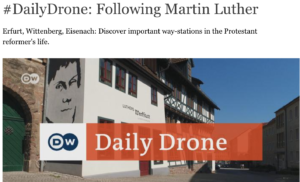 Daily Drone Following Luther