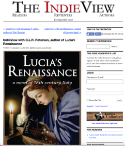 IndieView interview of C.L.R. Peterson
